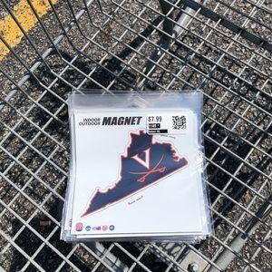 Virginia Cavaliers NCAA car magnets 2 for $9